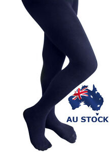 discount shop find lowest price elegant appearance Details about Pantyhose Tights Opaque 120D Stockings Hosiery Women Navy  Blue Black