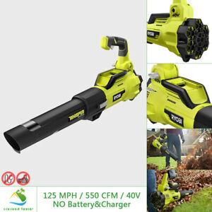RYOBI 40V Leaf Blower Fan 125 MPH 550CFM Handheld Cordless Brushless TOOL ONLY