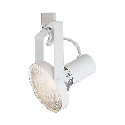 New Nora Lighting 1 Light White Gimbal Linear Track Head Ebay