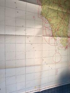 Details about Vintage 1946 World Aeronautical Chart Map Pamlico Sound 410  Home Decor