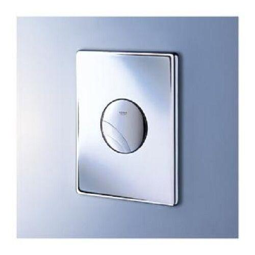 Platte klar für Kassette Dual flush und starten & Stop 38668000 Chrom Grohe