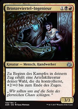 Aether revolt Magic bronze quart-ingénieur 2x weldfast Engineer