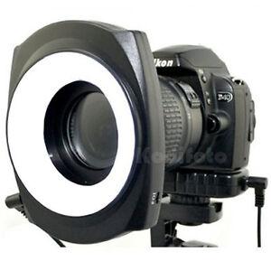 JJC-LED-48IO-Flash-Anular-Luz-Continua-Fotografia-Macro-Sony-Canon-Nikon