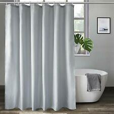 Waterproof Aoohome Fabric Shower Curtain 36 x 72 Inch Stall Size Bathroom Curtain for Hotel White