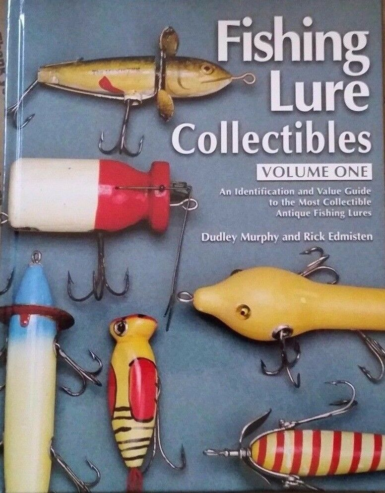 VINTAGE FISHING LURE ID MEMORABILIA COLLECTOR'S GUIDE 400 PAGES ALL COLOR PICS