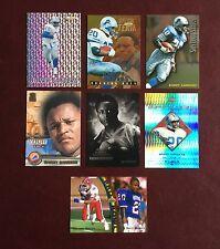 BARRY SANDERS Detroit Lions Football Card INSERT LOT of Seven (7)
