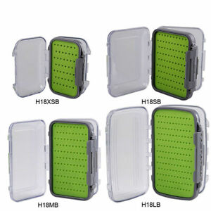 100-Waterproof-Double-Sides-Silicone-Fly-Box-Fly-Storage-Fly-Fishing-Tackle-Box