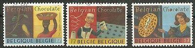 Belgien Briefmarken Belgien/ Schokolade Minr 2877/79 O BerüHmt FüR Hochwertige Rohstoffe Umfassende Spezifikationen Und GrößEn Sowie GroßE Auswahl An Designs Und Farben