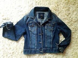 Size Den Small Jean Dark Wash begrænsede kvinders Jacket Denim qr0Caq