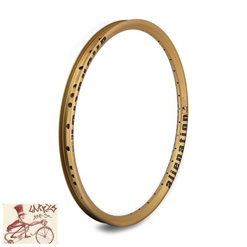 Alienación travesuras 36H --- 20  Borde de oro de la bicicleta