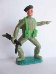 TIMPO-TOYS-BLACK-BERET-BERET-NOIR-WW2-WWII-ARMY-SOLDIER-WW-2-WW-II-2