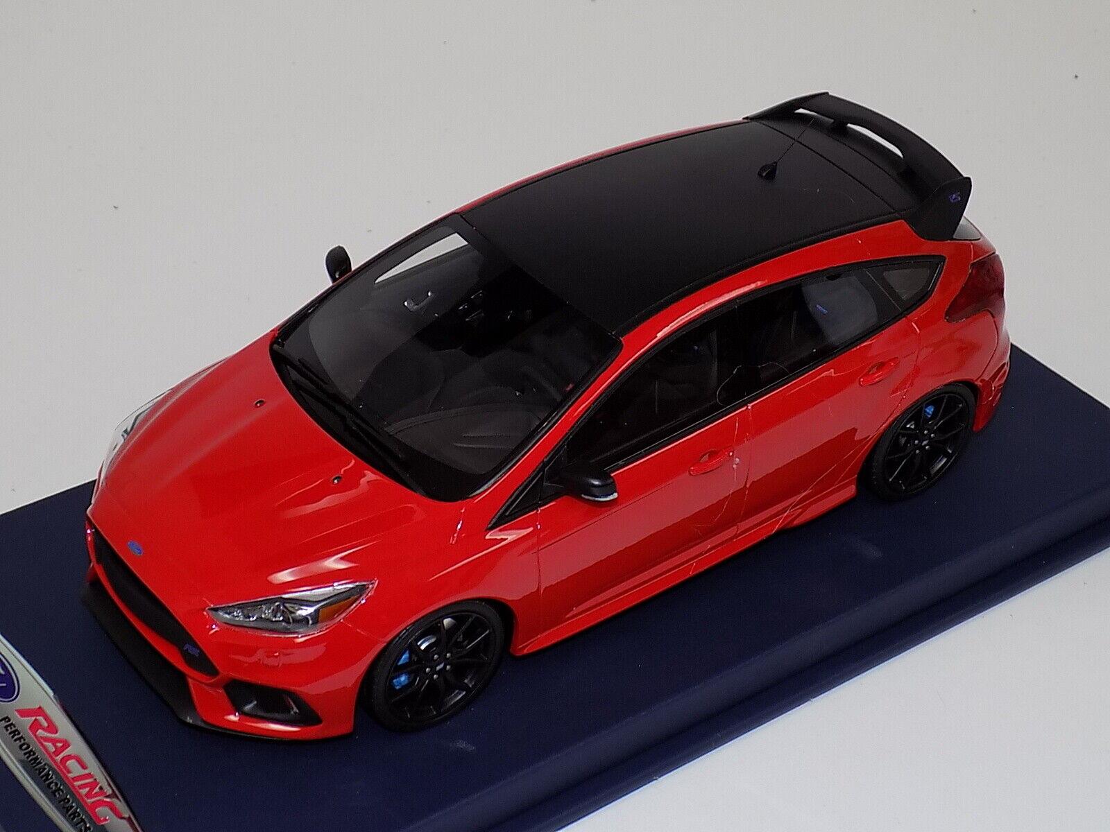 qualità ufficiale 1 18 GT Spirit Otto Mobile Mobile Mobile Ford RS Cosworth from 2017 in rosso OT802 blu Leather  100% di contro garanzia genuina