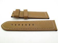 Panerai Camel Gold Calfskin Leather 26mm Nubuck Strap Regular 125mm/95mm PAM127