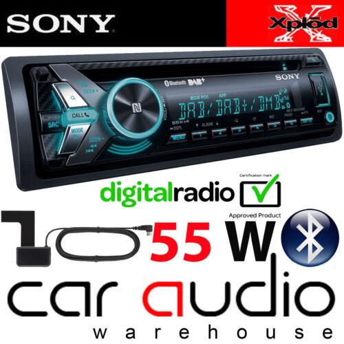 SONY MEX-N6001BD 55 x 4 Watts DAB Radio Bluetooth CD MP3 USB Car Stereo /& Aerial