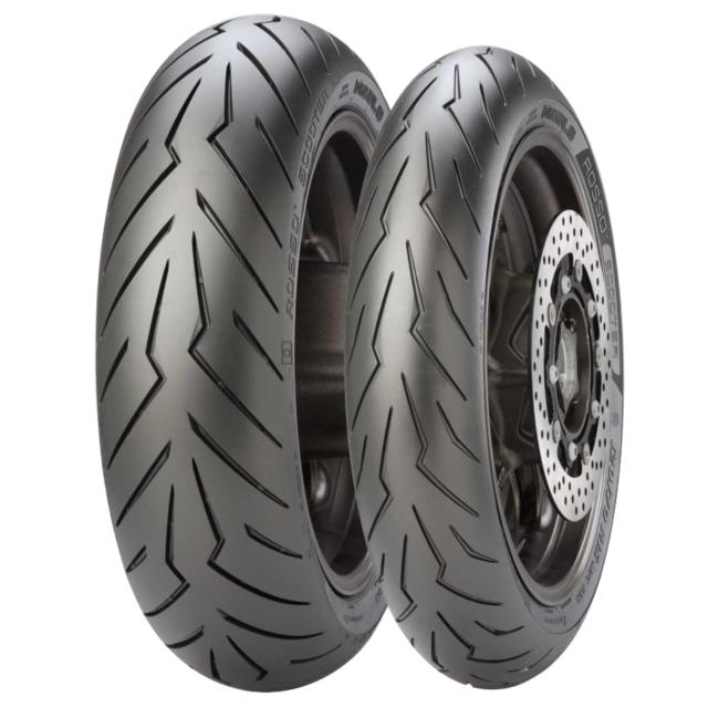 Par Neumáticos Scooter 120/70/15 160/60/15 Pirelli Diablo Rosso T Max 530 2016