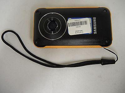 "Samsung Sports Cam HMX-W300 Camera Body Orange ""FOR PARTS"" (31577)"