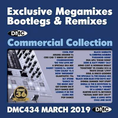 DMC Commercial Collection Issue 434 Bootleg Remix & Megamix DJ Double Music  CD