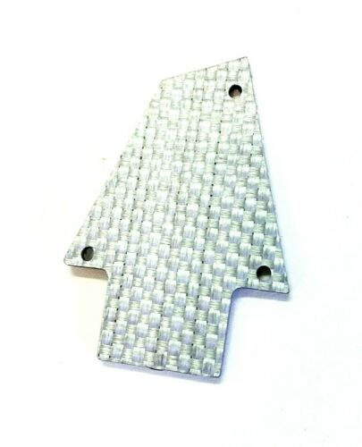 SILVER CARBON FIBER COVER TRUSS COVER for IBANEZ RG 550 JEM ***MADE IN USA***
