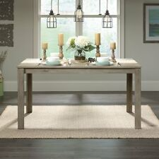 Farmhouse Dining Table Industrial Style Furniture Solid Wood Rustic Weathered