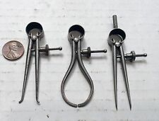 """LUFKIN 2 3/4"""" INSIDE & OUTSIDE CALIPERS AND DIVIDER"""