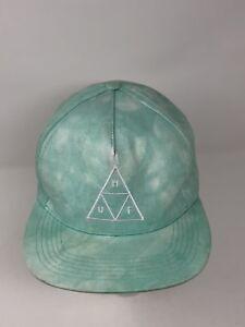 16d001fc HUF SNAPBACK Triple Triangle Denim Wash HAT CAP ripndip Golf Ovo ...
