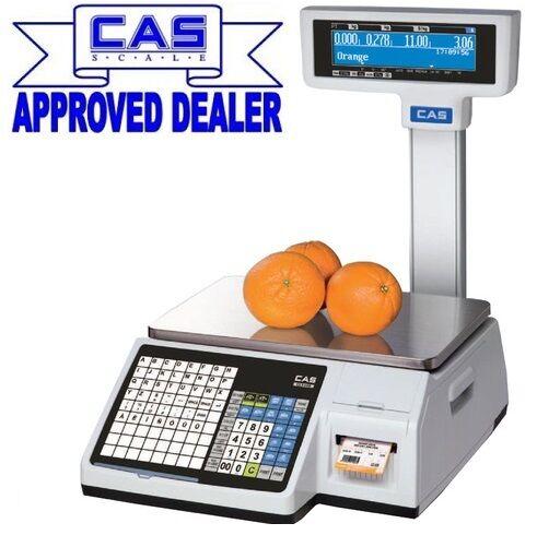 Cas CL5200 Label Printing Retail Butchers Scale Food Allergen Compliant