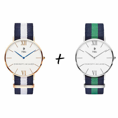 Coppia orologi TWIG PACK uomo/donna