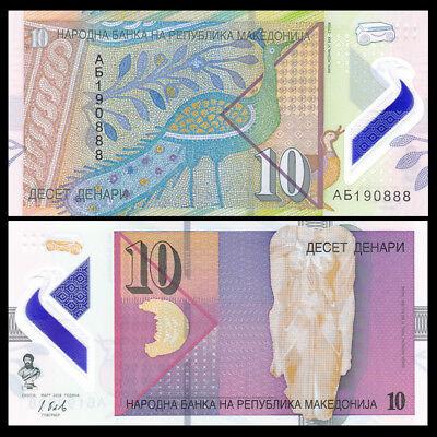 P-NEW New Design 2016 UNC Macedonia 200 Dinara