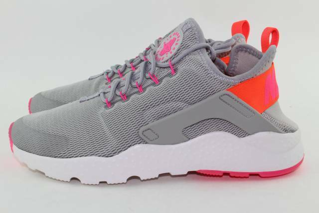 NIKE AIR HUARACHE RUN ULTRA WOMAN SIZE 9.0 LIGHT IRON NEW RARE ULTRA'LIGHTWEIGHT