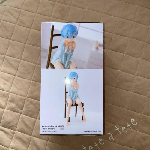 Re Zero Figure Relaxing Time Rem Namco Limited F//S