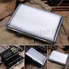 Men Women Ultra Thin Stainless Steel Credit Card RFID Protector Wallet Holder