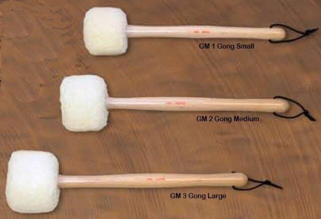 Large Chalklin GM3 Gong Mallet