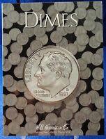He Harris Dimes Plain (no Date) Coin Folder, Album Book 2686