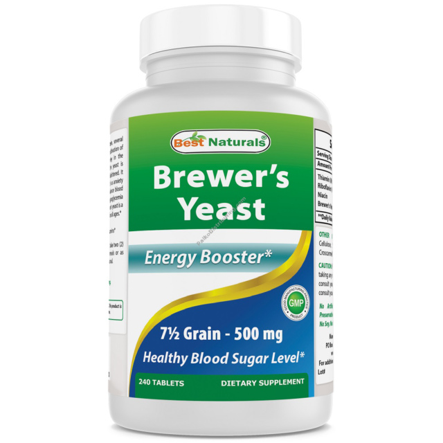 Brewer S Yeast Best Naturals 240 Tablet 1000 Mg For Sale Online Ebay
