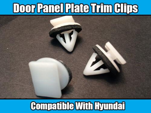20x Clips for hyundia Tuscon Porte Panneau Plaque Trim Plastique Blanc 87702-H1000