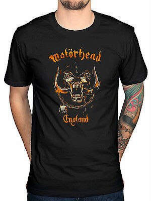Official Motorhead Mustard Pig T-Shirt OverKill Bomber Ace of Spades Punk Rock