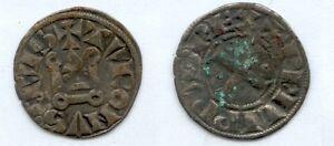 Gertbrolen-Philippe-IV-dit-Le-Bel-1285-1314-Denier-Tournois-Exemplaire-N-14