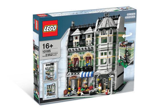 BRe nuovo Lego 10185 verde GROCER scatola has creases   vendita online