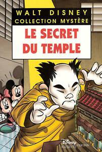 Livre-LE-SECRET-DU-TEMPLE-Walt-Disney-Collection-Mystere