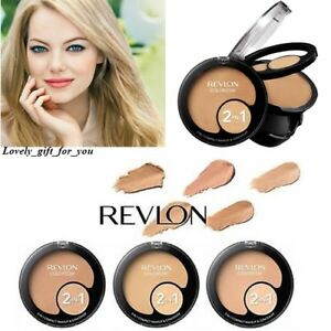NEW-Revlon-Colorstay-2in1-Compact-Makeup-amp-Concealer-Foundation-Choice-6-shades