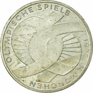 734698-Coin-GERMANY-FEDERAL-REPUBLIC-10-Mark-1972-Karlsruhe-EF-40-45