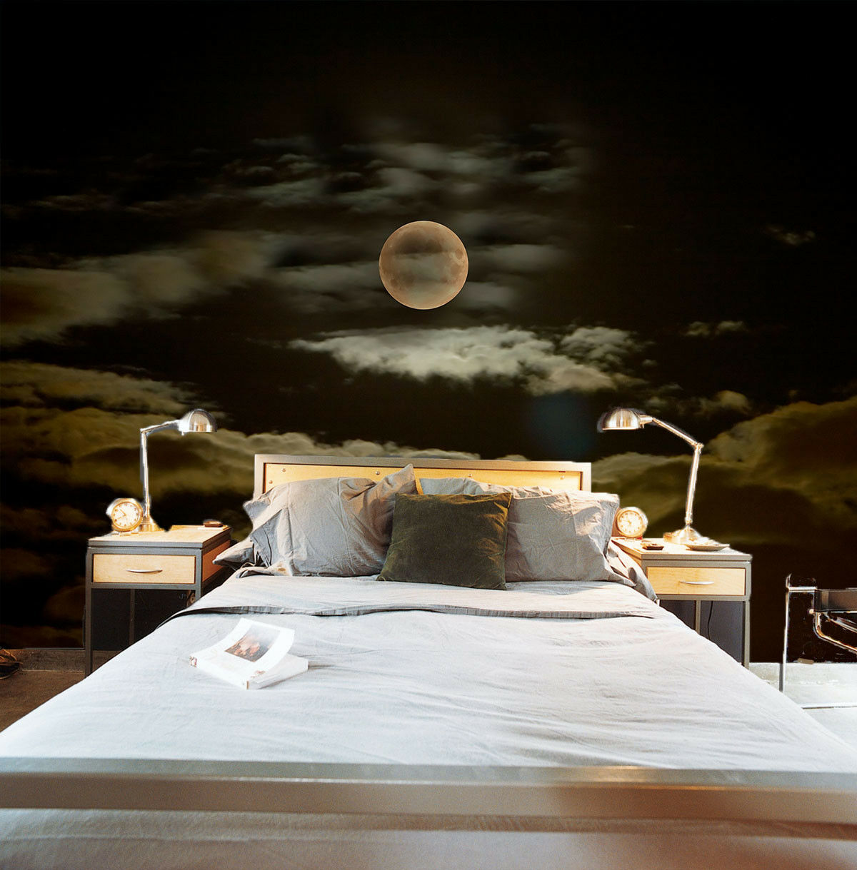 3D Moon Light 67 Wallpaper Murals Wall Print Wallpaper Mural AJ WALL AU Lemon