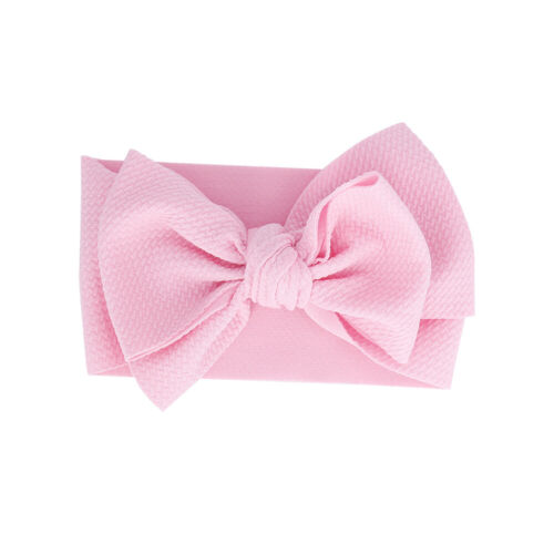 Over Sized Turban Girl Big Bow Headwrap Headwear Baby Headband Hair Band