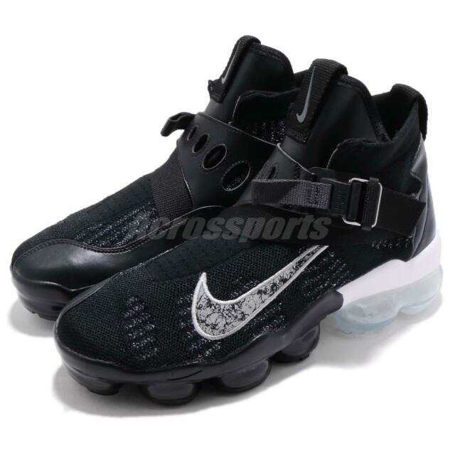 2fc6c114a5 Nike Vapormax Premier Flyknit Black Silver White Men Running Shoes  AO3241-002