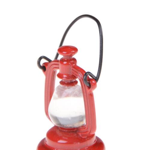 1:6//1:12 rétro lampe à huile Dollhouse miniature Toy Doll Home salon De XC