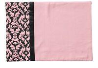 Ooh La La Pink & Black Filigree Cotton Placemat