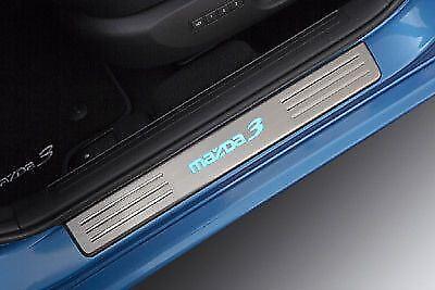 Genuine Mazda 3 2008-2011 Illuminated Scuff Plates