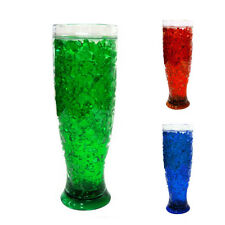 Freezer Mug Double Wall Gel 13 Oz Pilsner Tumbler Beverage Cooling Beer Cup New