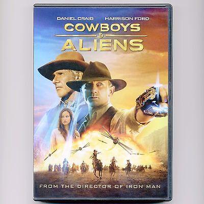 Cowboys Aliens 2011 Pg 13 Movie Mint Dvd Daniel Craig Harrison Ford Western Ebay