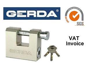 Gerda Heavy Duty latón obturador Candado De Seguridad Recta grillete 50-70 mm kswt  </span>